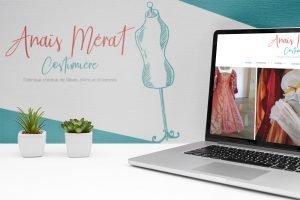 Refonte Graphique du site d'Anais Mérat costumière