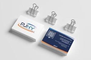 Création des cartes de visites PJHY